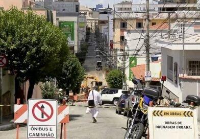 Ruas de Pouso Alegre são interditadas para realização de obras